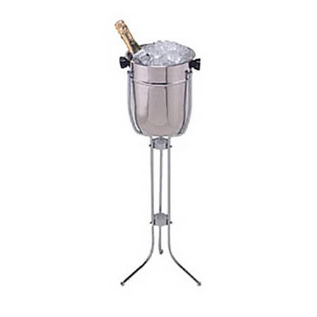 American Metalcraft Champagne Bucket With Stand