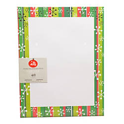 Gartner Studios Foil Stationery Sheets 8