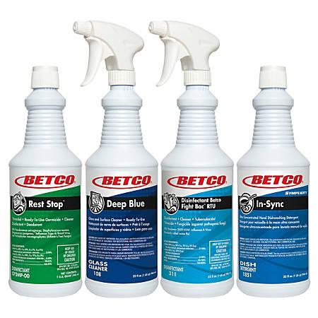 Betco® Breakroom Bundle, Pack Of 4 Cleaners