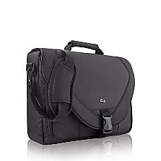 Solo Classic 17 Messenger Bag Black