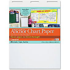 Pacon Heavy duty Anchor Chart Paper