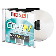 Maxell 4x CD RW Media