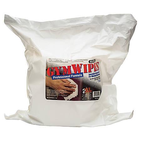 "2XL GymWipes Professional Wipes Refills, 6"" x 8"", Pack Of 700"
