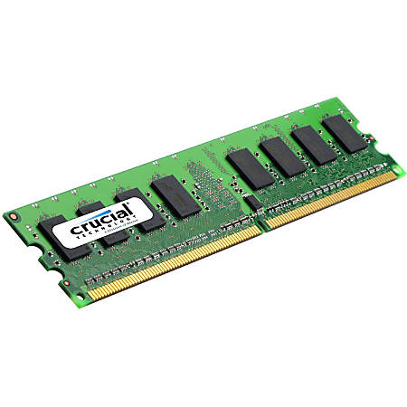 Crucial 4GB DDR3L SDRAM Memory Module - For Desktop PC - 4 GB (1 x 4 GB) - DDR3L-1600/PC3-12800 DDR3L SDRAM - CL9 - 1.35 V - Non-ECC - Unbuffered - 240-pin - DIMM