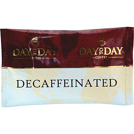 PapaNicholas Day To Day Decaff Coffee Pot Pack - Compatible with Drip-coffee Brewer - Decaffeinated - Day To Day Decaffeinated - 42 / Box