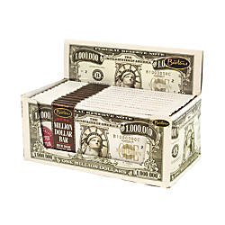 Bartons Million Dollar Chocolate Bars, Dark Chocolate, 2 Oz, 12 Per Box, Pack Of 2 Boxes Item # 358376 | Tuggl