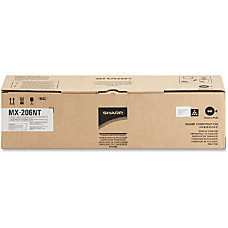 Sharp MX 206NT Black original toner
