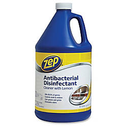 Zep Commercial Lemon Antibacterial Disinfectant Cleaner