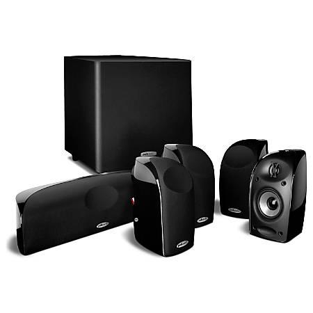 Polk Audio TL1600 6-Piece Home Theater System, Black, TL1600