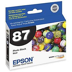 Epson 87 T087120 UltraChrome Hi Gloss
