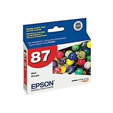 Epson 87 T087720 UltraChrome Hi Gloss