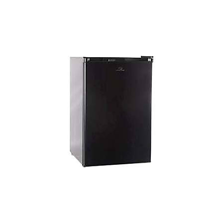 Commercial Cool 4.5 Cu Ft Compact Refrigerator/Freezer, Black
