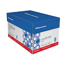 Office Depot Brand Multiuse Paper Letter