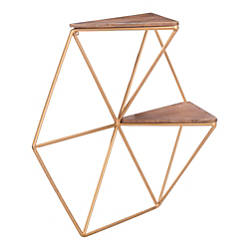 Zuo Modern Triangles Shelf 2 Shelves