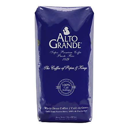 Alto Grande Whole Coffee Beans, 2 Lb Bag