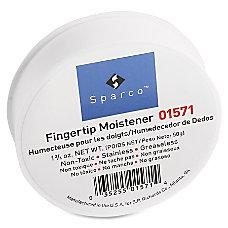 Sparco Fingertip Moistener Pink Odorless Greaseless