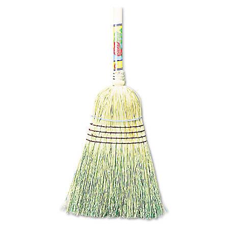 "Boardwalk® Corn Fiber Warehouse Broom, 56"", Natural"