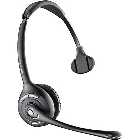 Plantronics CS510 Over-the-head Monaural - Mono - Wireless - DECT - 350 ft - Over-the-head - Monaural - Semi-open - Noise Cancelling Microphone