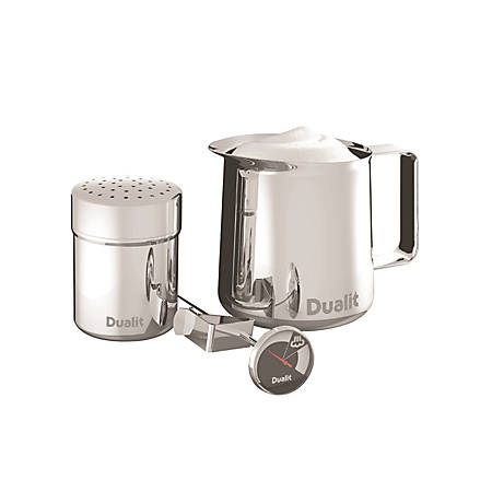 Dualit® Stainless-Steel Barista Kit, Stainless