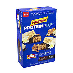 PowerBar Protein PLUS Bars Variety Pack