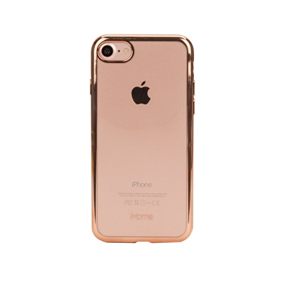 new product 229ac 7bb5e iHome® LUX Case For Apple® iPhone® 7, Rose Gold Item # 360066