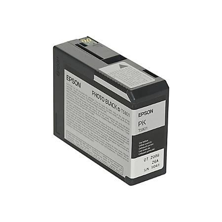 Epson® T5801 (T580100) UltraChrome™ K3 Photo Black Ink Cartridge