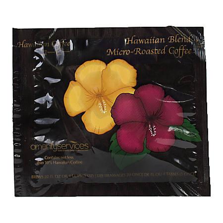 Hawaiian Blend Ground Coffee Filter Packs, 0.4 Oz, Case Of 150 Filter Packs