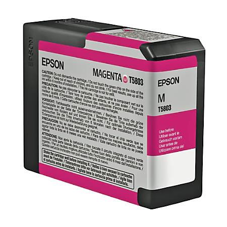 Epson® T5803 (T580300) UltraChrome™ K3 Magenta Ink Cartridge