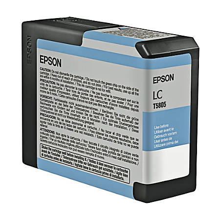 Epson® T5805 (T580500) UltraChrome™ K3 Light Cyan Ink Cartridge