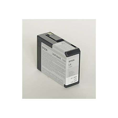 Epson® T5807 (T580700) UltraChrome™ K3 Light Black Ink Cartridge