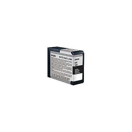 Epson® T5808 (T580800) UltraChrome™ K3 Matte Black Ink Cartridge