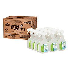 Green Works Natural GlassSurface Cleaner 32