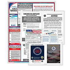 ComplyRight Federal Contractor Poster Bundle Spanish