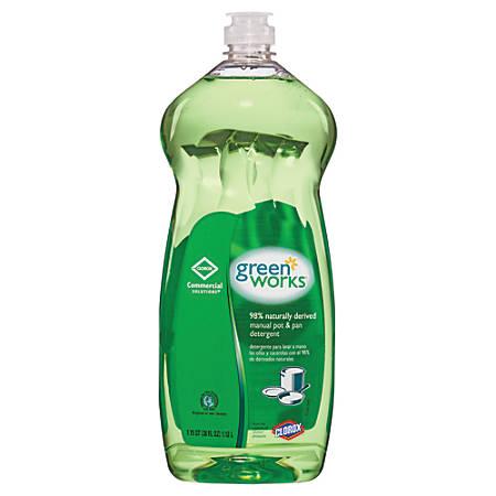 Green Works® Natural Dishwashing Liquid, 38 Oz