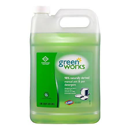 Green Works® Natural Dishwashing Liquid, 128 Oz