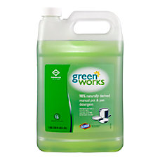 Green Works Natural Dishwashing Liquid 128