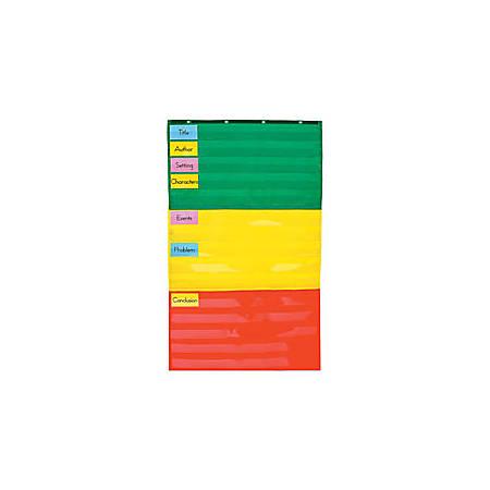 Carson-Dellosa Pocket Chart — Adjustable