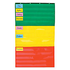 Carson Dellosa Pocket Chart Adjustable