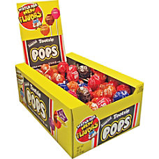 Tootsie Assorted Flavors Candy Center Lollipops