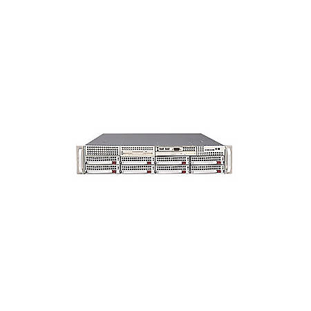 Supermicro A+ Server 2021M-T2R+V Barebone System - nVIDIA MCP55 Pro - Socket F (1207) - Opteron (Dual-core), Opteron (Quad-core) - 1000MHz Bus Speed - 128GB Memory Support - DVD-Reader (DVD-ROM) - Gigabit Ethernet - 2U Rack