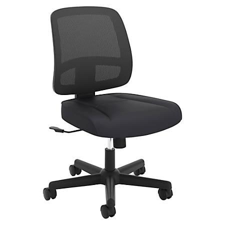 HON® ValuTask Mesh Task Chair, Black