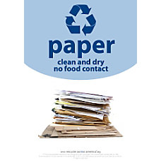 Recycle Across America Paper Standardized Recycling
