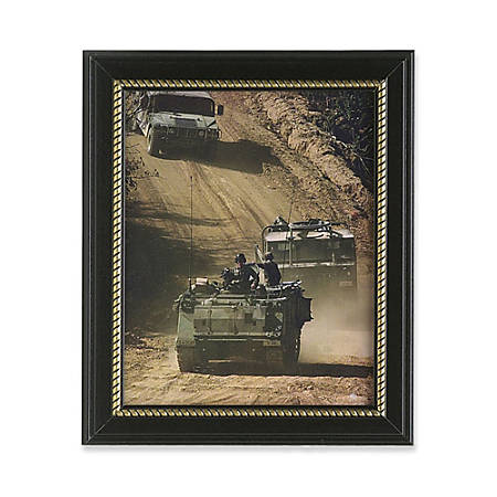 """SKILCRAFT® U.S. Military-Themed Picture Frame, 8 1/2"""" x 11"""" (AbilityOne 7105-01-458-8210)"""