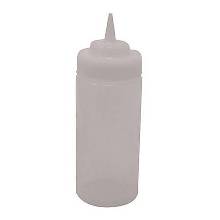 Tablecraft Wide Mouth Squeeze Bottle, HD, 16 Oz