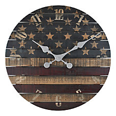 FirsTime Co Old Glory Wall Clock