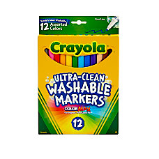 Crayola Washable Markers Thin Line Assorted