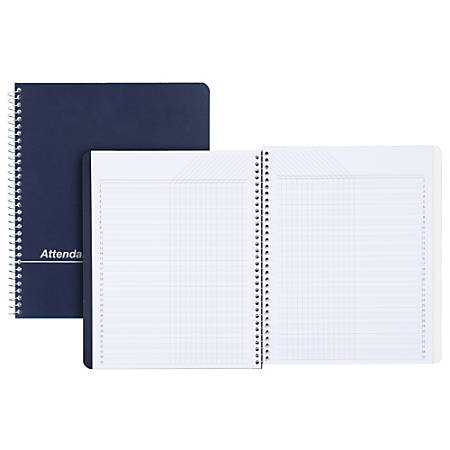 mead teachers class record and roll book 8 12 x 11 assorted colors