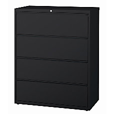WorkPro Metal Lateral File Cabinet 4