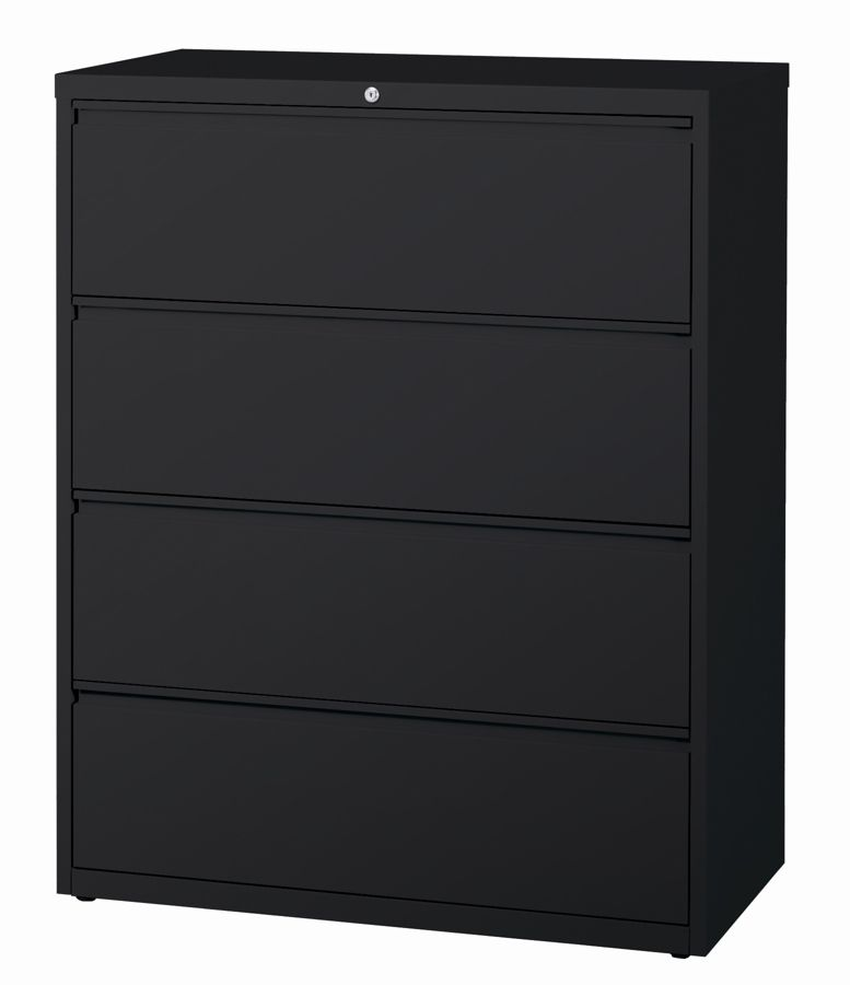 Nice WorkPro 42 W 4 Drawer Steel Lateral File Cabinet Black By Office Depot U0026  OfficeMax