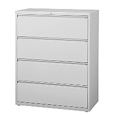 WorkPro 42 W 4 Drawer Steel
